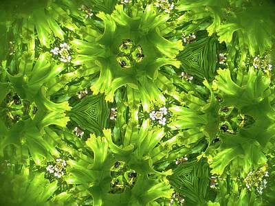 Kaleidoscope Flower Poster