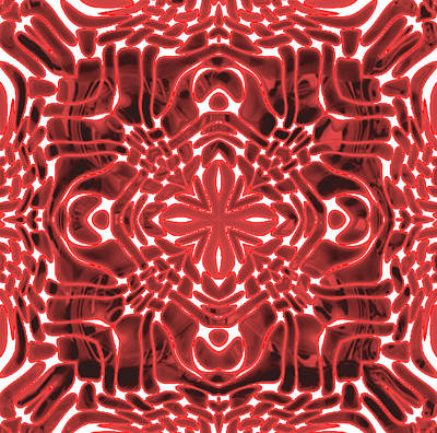 Kaleidoscope Gaze Poster by Haleema Minhas