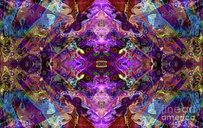 Kaleidoscope Poster by Tlynn Brentnall