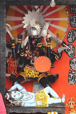 Kali Ma, Rishikesh Poster by Jennifer Mazzucco