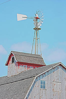 Kalona Barn Poster by Jame Hayes