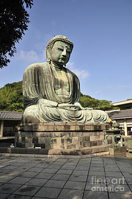 Kamakura Buddha Poster by Andy Smy