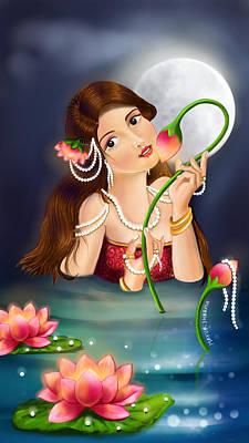 Kamal Priye Poster by Mayur Sharma