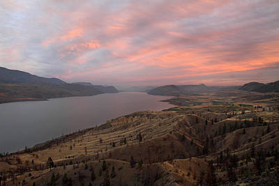 Kamloops Lake British Columbia Canada Poster by Pierre Leclerc Photography
