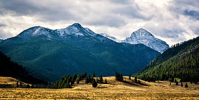 Kane Peak Poster by M Images Fine Art Photography and Artwork