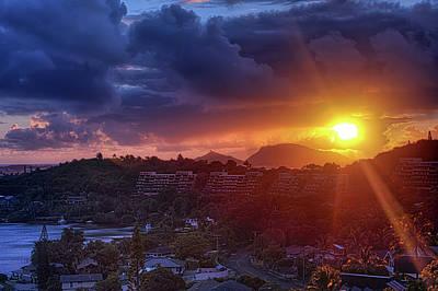 Kaneohe Sunrise Poster