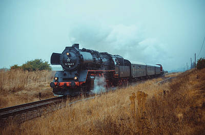 Kanonenbahn Poster by Steffen Gierok