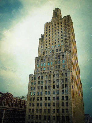 Poster featuring the photograph Kansas City Gotham by Glenn McCarthy Art and Photography