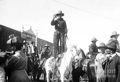 Kansas: Cowboy, C1908 Poster by Granger