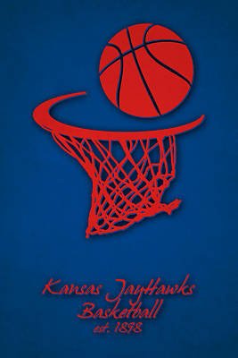 Kansas Jayhawks Basketball Poster
