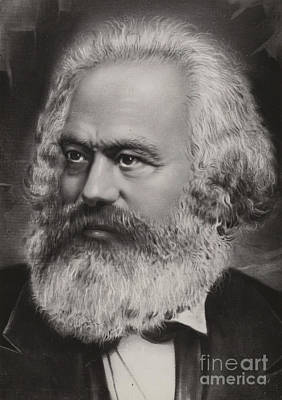 Karl Marx Poster by Russian School