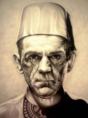 Karloff Poster by Fred Larucci