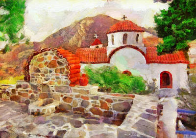 Karpathos Island 2 Poster by George Rossidis