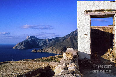 Poster featuring the photograph Karpathos Island Greece by Silvia Ganora