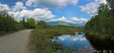 Katahdin In The Clouds Poster
