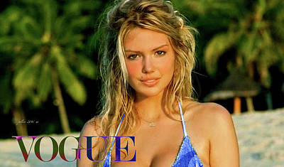 Kate Upton, Vogue Poster