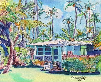Kauai Blue Cottage 2 Poster