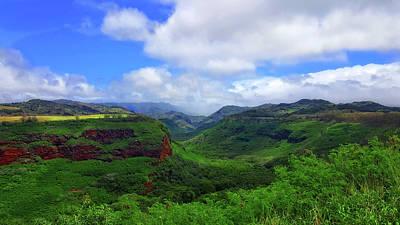 Kauai Mountains Poster