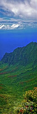 Kauai  Napali Coast State Wilderness Park Poster