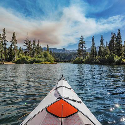 Kayak Views Poster by Alpha Wanderlust