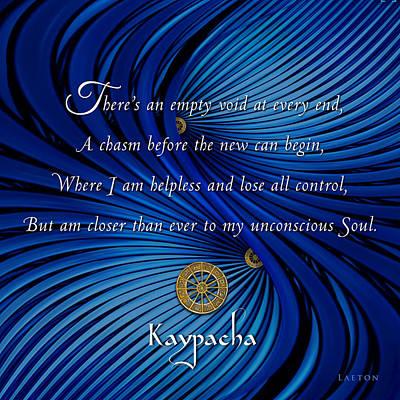 Kaypacha's Mantra 3.9.2016 Poster