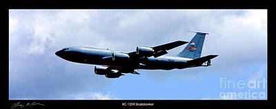 Kc-135r Stratotanker Poster Poster by Tommy Anderson