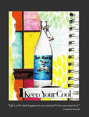 Keep Your Cool _with Border Poster