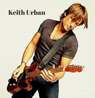 Keith Urban Poster Poster