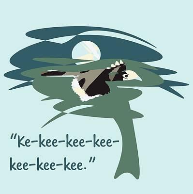 Kelingking Hornbill Poster by Geckojoy Gecko Books