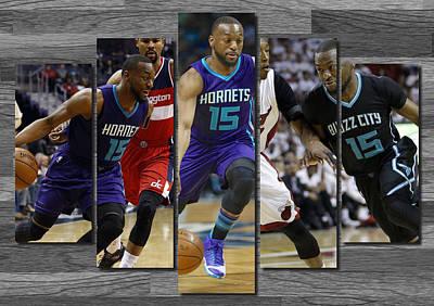 Kemba Walker Charlotte Hornets Poster by Joe Hamilton