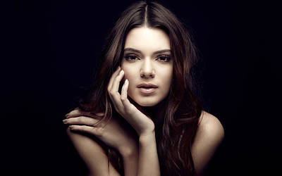 Kendall Jenner American Fashion Model Poster
