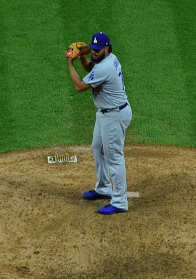 Kenley Jansen Poster by Frozen in Time Fine Art Photography