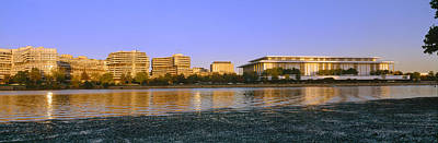 Kennedy Center And Watergate Hotel Poster by Panoramic Images