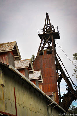 Kennedy Mine Headframe Poster