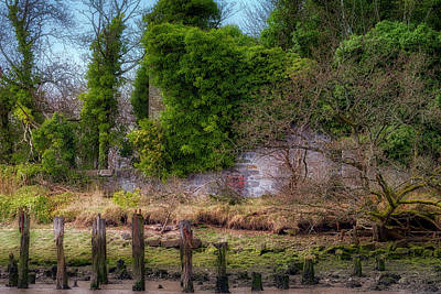 Poster featuring the photograph Kennetpans Distillery Ruins by Jeremy Lavender Photography