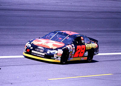 Kenny Irwin # 28 Havoline Ford 1998 At Charlotte Poster