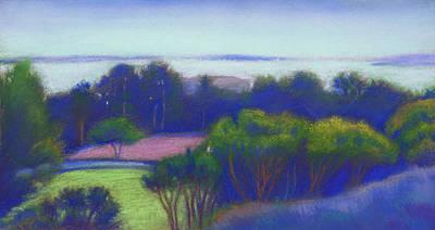 Kensington Blue View Poster