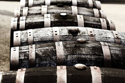 Kentucky Bourbon Barrels Poster