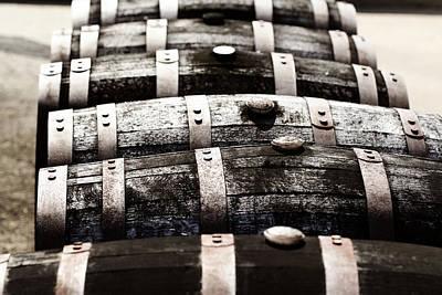 Kentucky Bourbon Barrels Poster by Robert Glover