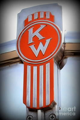 Kenworth Insignia Poster