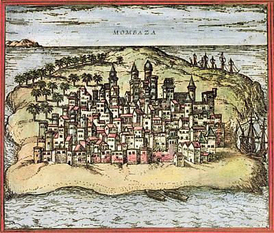 Kenya: Mombasa, 1572 Poster