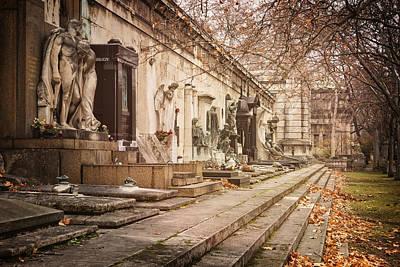 Kerepesi Cemetery Budapest Poster