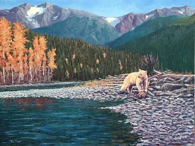 Kermode Spirit Bear - Terrace Bc  Poster