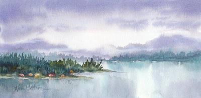 Ketchikan Alaska Inside Passage Shores Poster