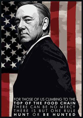 Kevin Spacey Poster by Semih Yurdabak