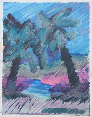 Key Palms Poster by Judy Loper