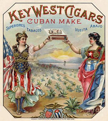 Key West Cigars Poster by Jon Neidert