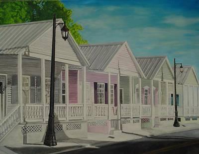 Key West Cottages Poster