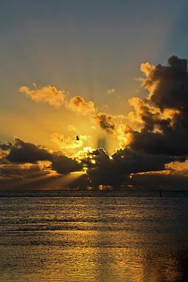 Key West Sunrise 39 Poster