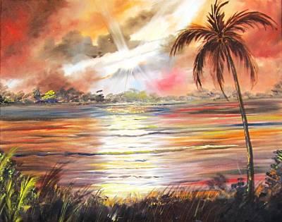 Keys Sunrise, Sunset Poster
